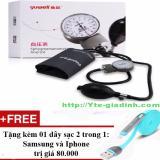 Chiết Khấu Sản Phẩm May Đo Huyết Ap Bop Tay Yuwell Tặng 01 Day Sạc Điện Thoại 2 Trong 1 Cho Iphone Va Samsung
