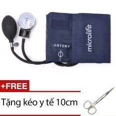Hình ảnh Máy đo huyết áp cơ Microlife AG1-20 + Tặng kéo y tế 10cm