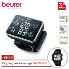 Máy đo huyết áp điện tử cảm ứng Beurer BC58 + Tặng đồng hồ thể thao