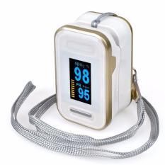 Máy đo nồng độ Oxy Trong máu SPO2 OX50 (Trắng vàng) bán chạy