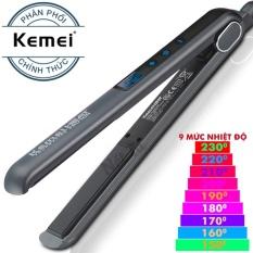 Máy duỗi tóc chỉnh nhiệt cảm ứng KM 1089 nhập khẩu
