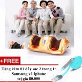 May Massage Bắp Chan Va Ban Chan Thế Hệ Mới Tặng Kem Sạc Điện Thoại 2 Trong 1 Cho Iphone Va Samsung Nguyên