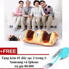 Bán May Massage Bắp Chan Va Ban Chan Thế Hệ Mới Tặng Kem Sạc Điện Thoại 2 Trong 1 Cho Iphone Va Samsung Nguyên