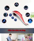 May Massage Lưng 3 Đầu Cầm Tay Ca Heo 3 Đầu Ks 257 Thong Dụng Nhất Tren Thị Trường Oem Chiết Khấu 40