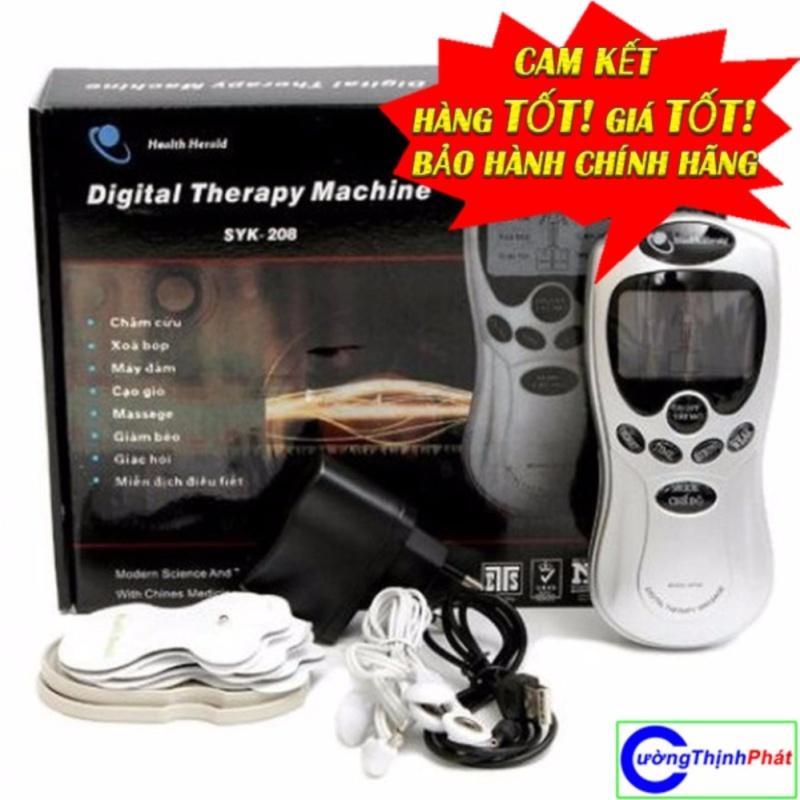 Máy massage trị liệu xung điện 4 miếng dán