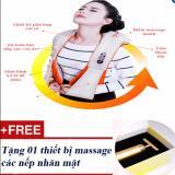 Mã Khuyến Mại May Mat Xa Vai Cổ Lưng Đa Năng Loại Cao Cấp Tặng 01 Massage Mặt Hà Nội