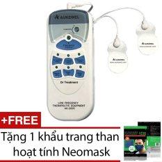Giá Bán May Mat Xa Xung Điện Aukewel Dr Treatment Ak 2000 Tặng 1 Khẩu Trang Than Hoạt Tinh Neomask Aukewel Nguyên
