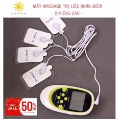 May Mat Xa Xung Dien - Máy Massage trị liệu xung điện 8 miếng dán Cao Cấp - Bảo hành 1 đổi 1 bởi SUN STORE SG