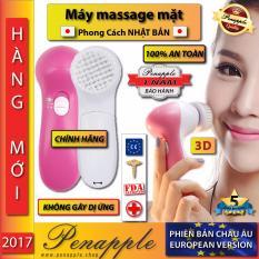May Rửa Mặt Massage 5 Chức Năng Cao Cấp Phien Bản Chau Au Sản Xuất Tại Hồng Kong Hang Phan Phối Chinh Thức Trong Hồ Chí Minh