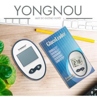 Máy Thử Tiểu Đường Tại Nhà YONGNOU + Tặng ngay hộp que thử 25 test + Hộp 50 kim chích máu thumbnail
