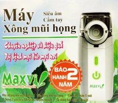 Máy xông mũi họng siêu âm cầm tay MAXVI (Trắng) nhập khẩu