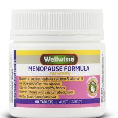 TPBVSK cho phụ nữ ngay và sau mãn kinh WELLWISSE MENOPAUSE FORMULA FOR WOMEN 60 viên
