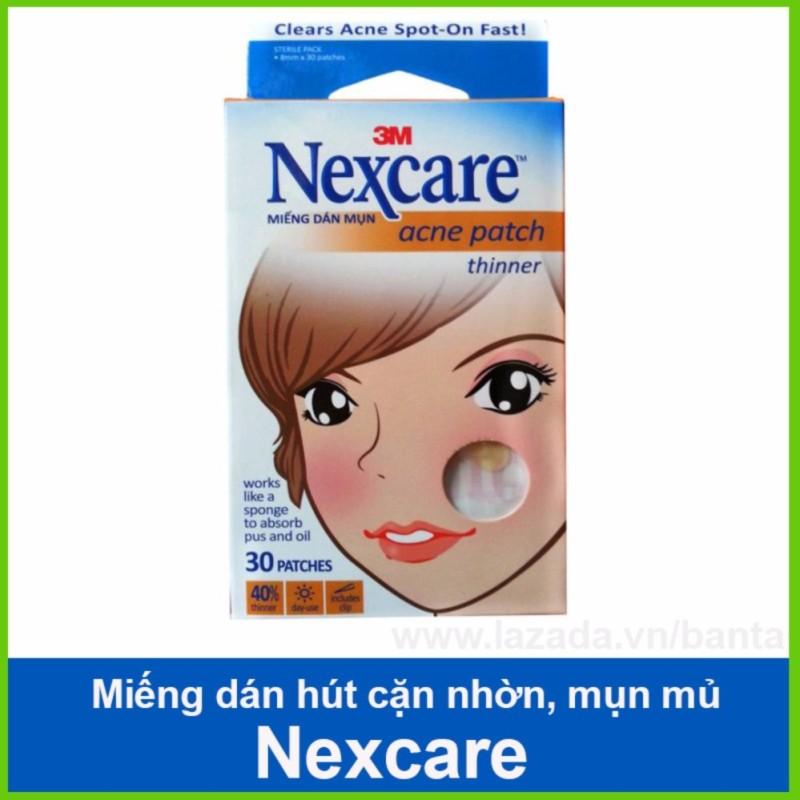 Miếng dán hút mụn Nexcare, hút và trị mụn hiệu quả
