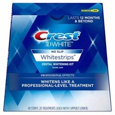 Giá Bán Miếng Dan Trắng Răng Của Mỹ Crest 3D White 40 Miếng Dan Rẻ Nhất