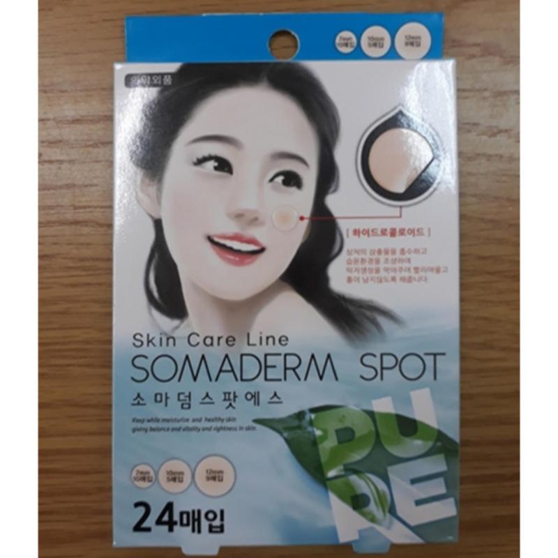 Miếng dán trị mụn Somaderm Spot 24 miếng tốt nhất