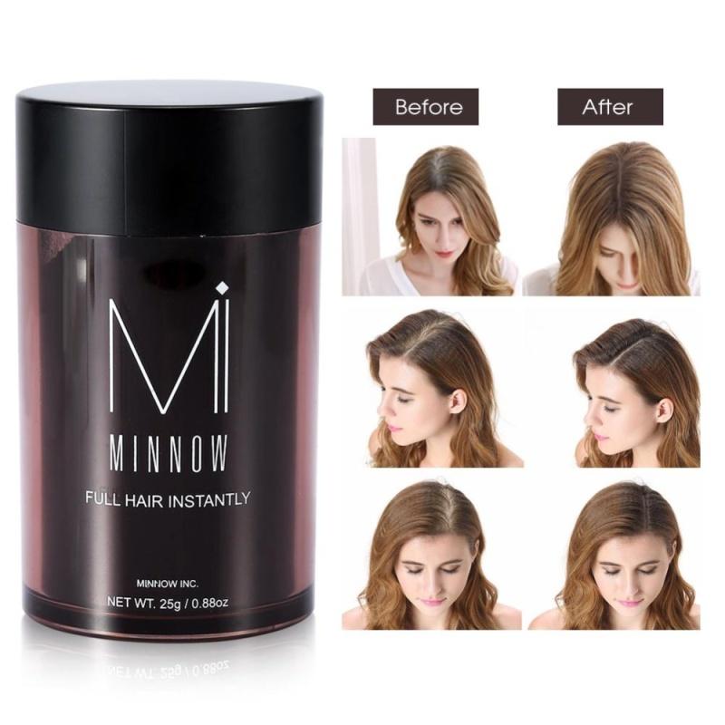 Minnow Hói Đầu Che Khuyết Điểm Tóc Phương Pháp Điều Trị Làm Dày Tóc Sợi Bột Màu Đen-quốc tế nhập khẩu