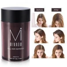 Minnow Nữ Hói Đầu Che Khuyết Điểm Làm Dày Tóc Xây Dựng Sợi Bột (Nâu Đậm)-quốc tế chính hãng