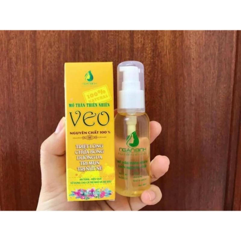 Mỡ Trăn Thiên Nhiên Veo nguyên chất 100% nhập khẩu