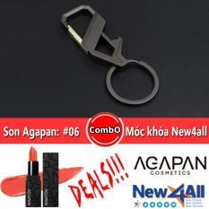 Ôn Tập Moc Khoa New4All Son Li Agapan 06 Lipstick Dạng Thỏi Hồng Cam Coral Agapan Trong Hồ Chí Minh
