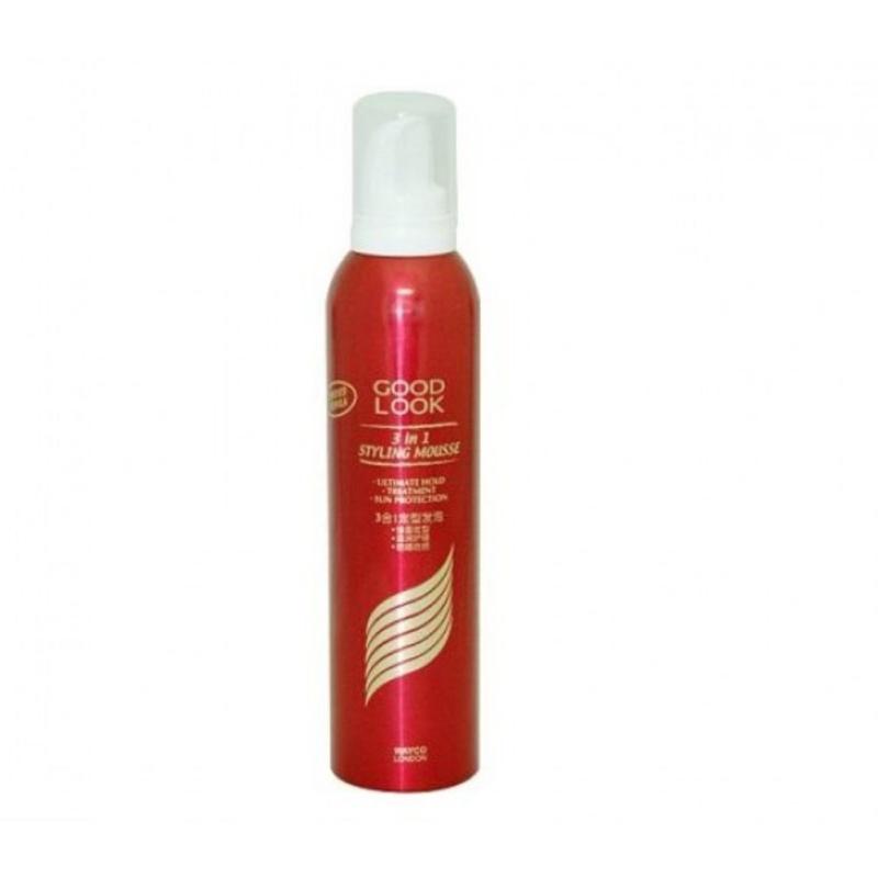 Mousse tạo kiểu và giữ nếp tóc Goodlook 3 in1 240ml giá rẻ
