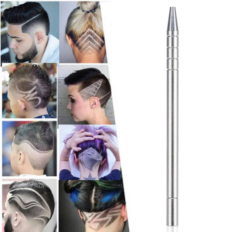 Đa năng Salon Chuyên Nghiệp Râu Tóc Tạo Kiểu Tóc Khắc Dao Cạo Bút Bạc-quốc tế nhập khẩu