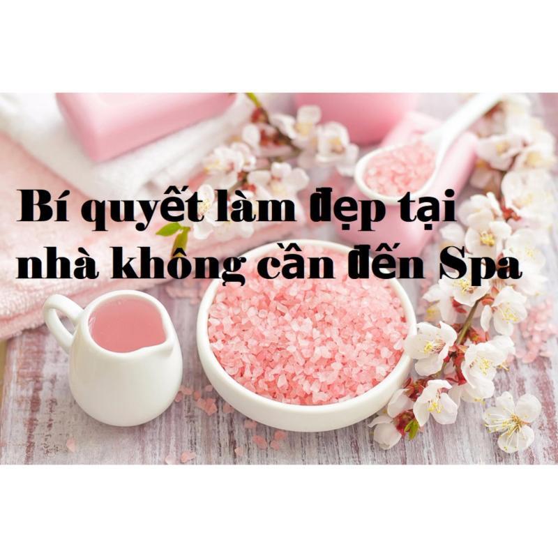 Muối tắm Himalaya nhập khẩu (túi1kg)- Bí quyết làm đẹp tại nhà không cần tới SPA
