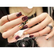 Hình ảnh Nail Bộ 24 móng tay giả thời trang loại 1 C35