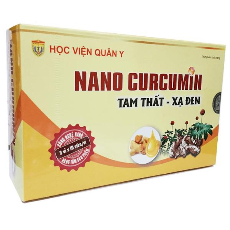 Nano Curcumin Tam Thất Xạ Đen của Học Viện Quân Y cao cấp