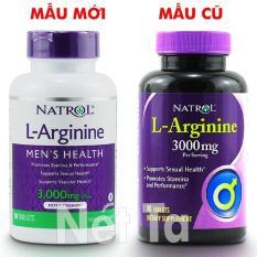 Ôn Tập Natrol L Arginine 3000Mg Hộp 90 Vien Mỹ Hỗ Trợ Sức Khỏe Tinh Dục Tăng Cường Sức Mạnh Nam Giới Natrol