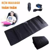 Bán Mua Trực Tuyến Nệm Massage Toan Than Cao Cấp 9 Điểm Nhấn Đen
