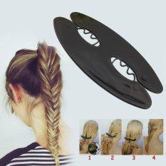 New Hot Sale Fashion Women Magic Twist Styling Stick Hair Braider Tool DIY - intl
