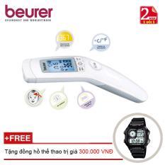 Nhiệt kế điện tử Beurer FT90 + Tặng đồng hồ thể thao