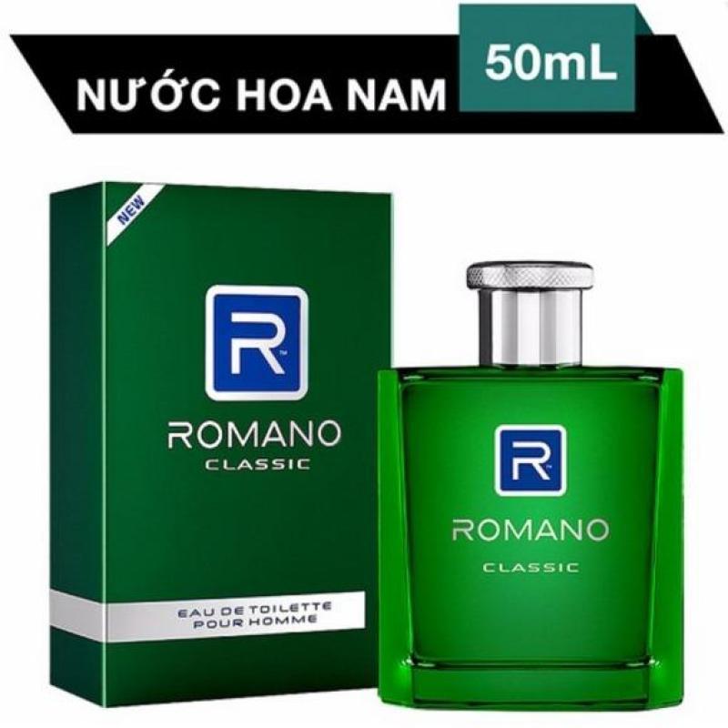 Nước hoa Cao Cấp  Romano Classic 50ml giá tốt hơn Xmen boss với mùi hương trẻ trung, lãng mạn tặng kèm 20ml nước hoa chiết Pháp ngẫu nhiên