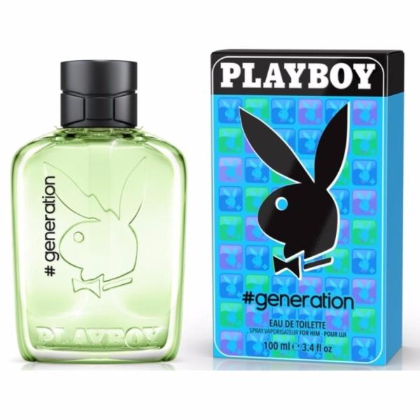 Nước hoa dành cho nam Playboy Eau De Toilette 100ml #Generation