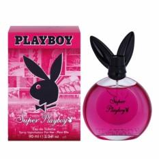 Nước hoa dành cho nữ Playboy Eau De Toilette For Her 90ml #Super Playboy - CODE N0.4
