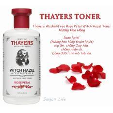 Hình ảnh Nước Hoa Hồng Không Cồn Thayers Witch Hazel Rose Petal 355ml (Dành cho da khô, da thường)