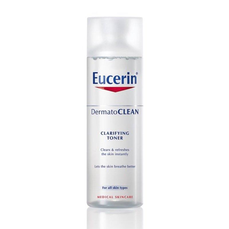 Eucerin Nước hoa hồng cho da nhạy cảm Dermatoclean Clarifying Toner 200ml cao cấp