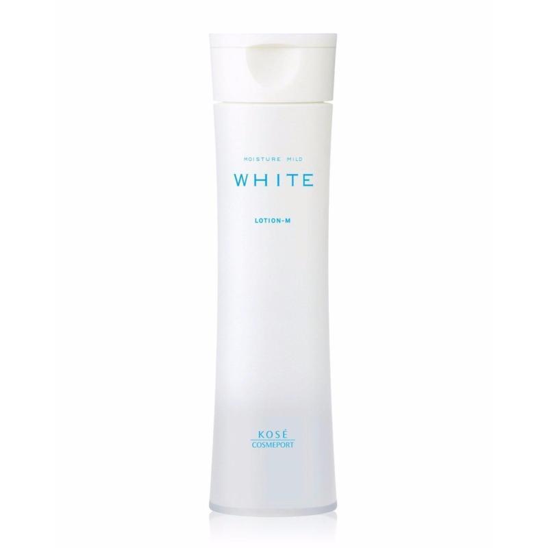 Nước hoa hồng dưỡng trắng da Kose Moisture Mild White 180ml cao cấp