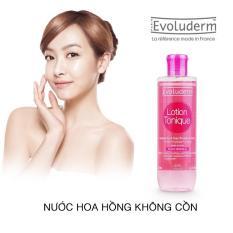 Bán Nước Hoa Hồng Giữ Ẩm Cho Da Khong Cồn Evoluderm Lotion Tonique 250Ml Mới