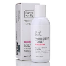 Nước hoa hồng Rucy's Vanity Whitening Toner Vitamin E – Collagen 100ml