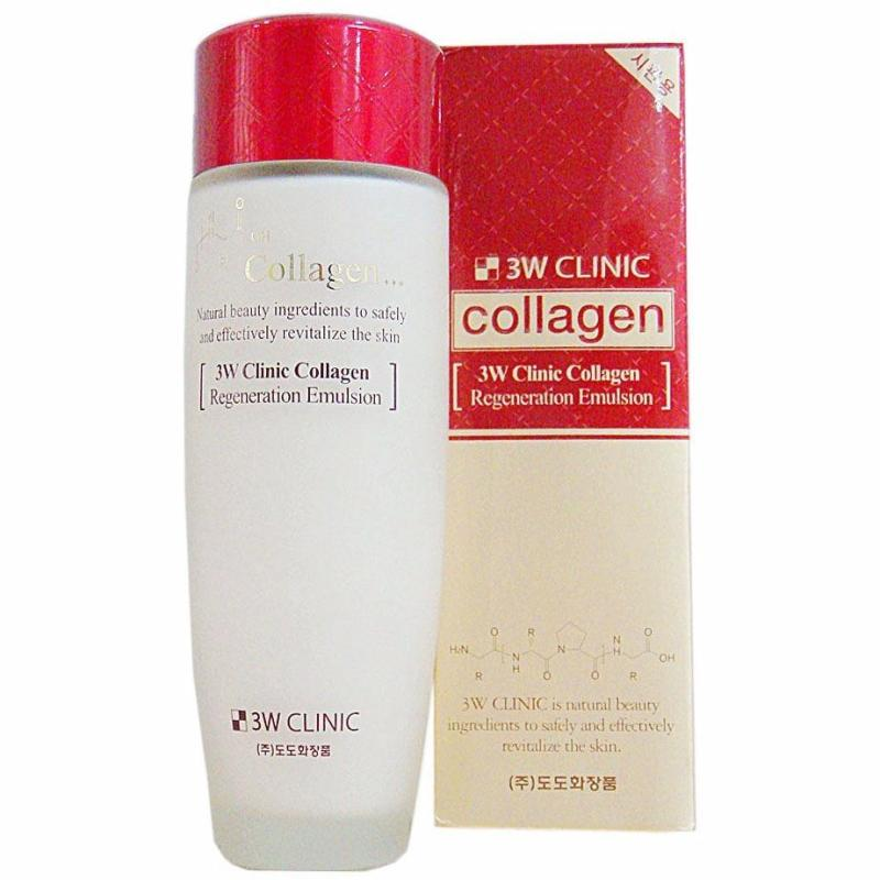 Nước Hoa Hồng Tái Tạo Làm Sáng Da 3W Clinic Collagen Regeneration Softerner (150ml) cao cấp