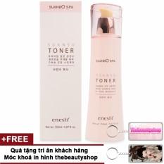 Nước hoa hồng trắng da, se khít lỗ chân lông Enesti Suansu Toner Cao cấp Hàn Quốc 150ml + Tặng móc khoá thebeautyshop - Hàng chính hãng