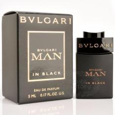 Chiết Khấu Sản Phẩm Nước Hoa Nam Bvlgari Eau De Parfum Mini Man In Black 5Ml