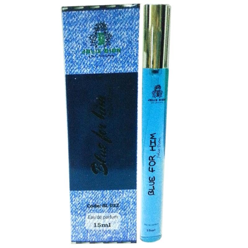 Nước hoa nam cá tính Jolie Dion Blue For Him eau de parfum 15ml