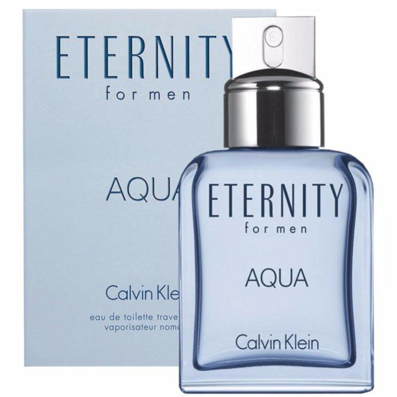 Nước hoa nam ETERNITY AQUA by Calvin Klein Eau De Toilette 3.4oz/100ml