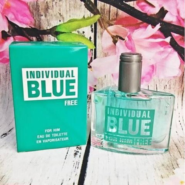 Nước hoa nam Individual Blue FREE For Him 50ml ( Xanh Ngọc )