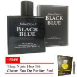 Giá Bán Rẻ Nhất Nước Hoa Nam Jolie Dion Black Blue Eau De Parfum 100Ml Tặng Nước Hoa Nữ Charm Eau De Parfum 3Ml