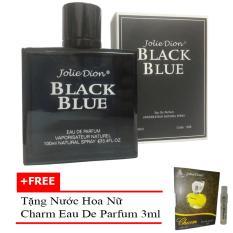 Chiết Khấu Nước Hoa Nam Jolie Dion Black Blue Eau De Parfum 100Ml Tặng Nước Hoa Nữ Charm Eau De Parfum 3Ml