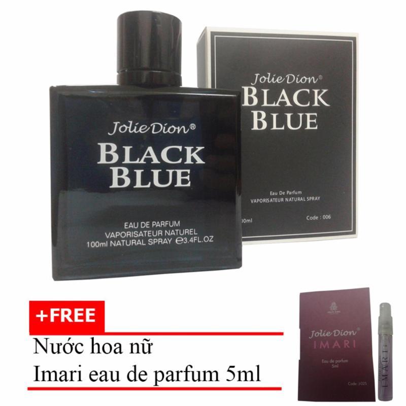 Nước hoa nam Jolie Dion Black Blue Eau de parfum 100ml + Tặng Nước hoa nữ Imari eau de parfum 5ml