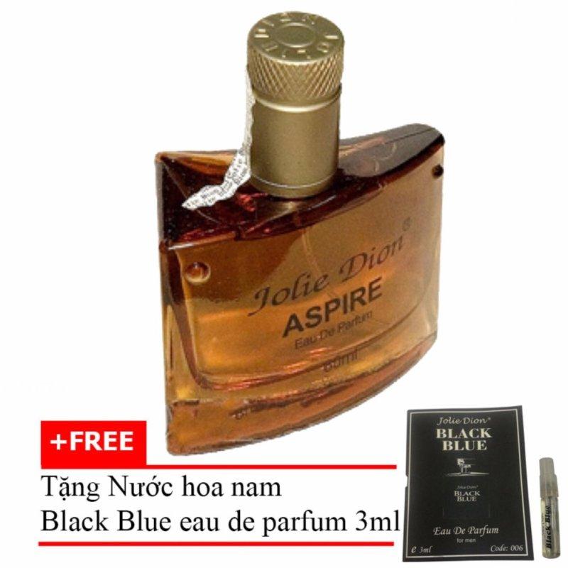 Nước hoa nam tính Aspire eau de parfum 60ml + Tặng Nước hoa nam Black Blue eau de parfum 3ml